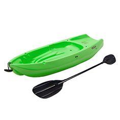 Amazon.com : Lifetime Youth Wave Kayak with Paddle - 6- Feet (Orange) : Sports & Outdoors
