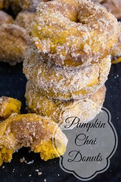 Pumpkin Chai Donuts Pumpkin Chai Donuts