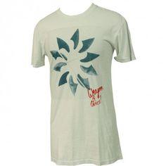 Rusty Clothing Mens Shirt Cut Back Light Blue