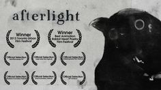 Afterlight is a short hand made film that explores both one's inherent darkness and one's inherent lightness. Every frame was made with charcoal on paper (sometimes each frame was drawn up to eight times) and then composited digitally. Winner, 2013 Toronto Urban Film Festival (one minute edit) Winner, Best Animation, Rabbit Heart Poetry Film Festival Winner, Cammy Maximus Award (CSU Media Festival) Third Place, Headwaters Film Festival Official Selection: 2013 Body Electric ...