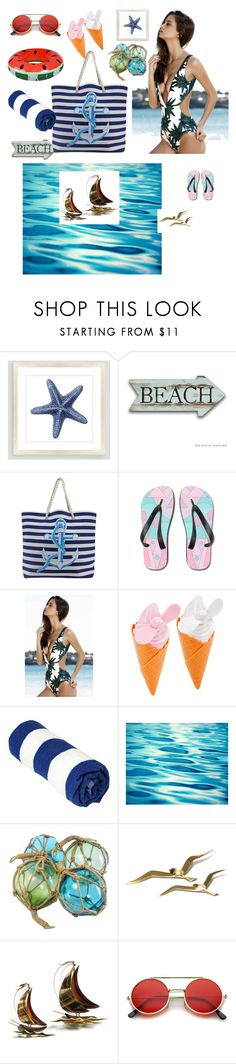 """""""Beach is way of living"""" by mystylemydestiny ❤ liked on Polyvore featuring Cost Plus World Market"""