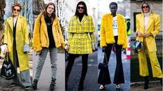 'Gen-Z Yellow' Was a Street Style Hit at Paris Fashion Week. See what the fashion crowd wore over the weekend.