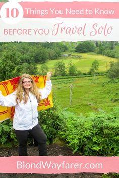 travel solo | solo female travel | wanderlust | travel inspiration | vacation | travel advice