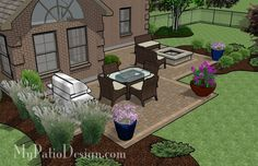 Patio Ideas On A Budget | ... the Home / Backyard Patio Ideas on a Budget | Patio Designs and Ideas