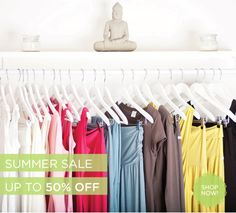 Summer Sale: Up to 50% OFF Wellicious Yoga, Pilates and Loungewear. Shop now: www.wellicious.com