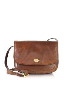 dbc4763f6e Story Donna Marrone Leather Crossbody Bag - Brown - The Bridge Shoulder bags