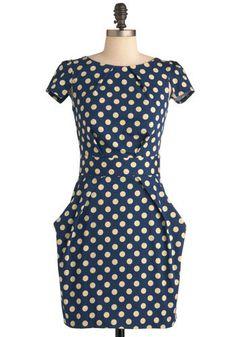 Tapioca Dokey Dress   Mod Retro Vintage Dresses   ModCloth.com