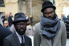 Sam Lambert and Shaka Maidoh | Sam Lambert & Shaka Maidoh hat glasses