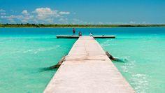 Image result for bacalar laguna de los 7 colores