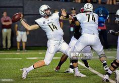 News Photo : Quarterback Kyle Shurmur of the Vanderbilt...