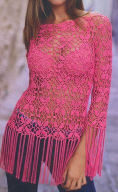 ergahandmade: Crochet Blouse + Diagram