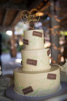 26 Romantic Travel Wedding Theme Ideas 16 - Weddingomania