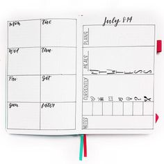 2019 Mega Guide to Bullet Journaling: Part 2 | Life by Whitney Bullet Journal How To Start A, Bullet Journal Spread, Bullet Journal Inspiration, Bullet Journals, Bujo, Bullet Journal Layout Templates, Weekly Spread, Printable Quotes, Step Guide