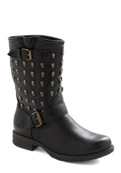 Rebel with a Cause Boot, #ModCloth. Oh dear Lord I need a job.  Love.