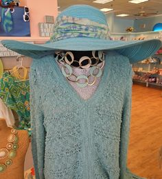 Toucan Hat, Bella U necklace and Windi River sweater