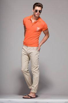 naranja y beige verano