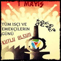 1 Mayıs işçi Bayramınız Kutlu olsun #Fıstıktasarım www.fistiktasarim.com