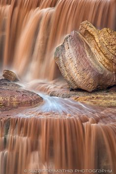 Chocolate Falls, Navajo Indian Reservation, Arizona