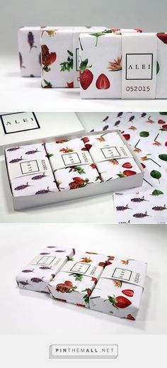 ALEI via Package Design Inspiration Created by Manolo Rangel (student project) curated by Packaging Diva PD. Pretty soap packaging