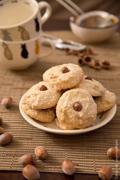 Biscuits aux Noisettes - Hazelnuts Cookies