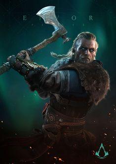 Assassins Creed Game, Assassins Creed Series, Art Viking, Viking Warrior, Assassin's Creed Wallpaper, Viking Wallpaper, Thor, God Of War, Barbarian