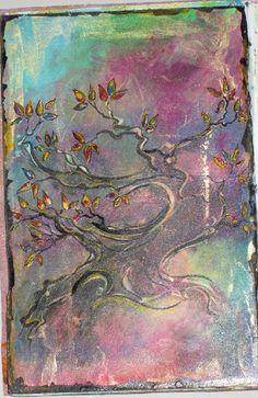 Art Journal Page...don't know who the artist is but this is simply stunning!