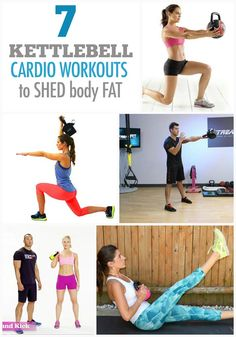 7 Kettlebell Cardio Workouts to Shed your Fat