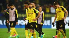 """Das Spiel gegen Monaco nachzuholen, nur einen Tag nach dem Anschlag auf den BVB-Bus, war für das Dortmunder Team eine emotionale Herausforderung. """"Wir sind keine Tiere"""", sagte Verteidiger Sokratis."""