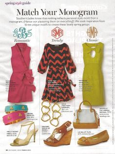 Long Island Style: Matching My Monogram