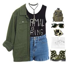 """21.3.17 // 01:02"" by theonlynewgirl ❤ liked on Polyvore featuring Pieces, Anouki, Ray-Ban and Burberry"