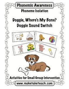 Two free phonemic awareness activities!