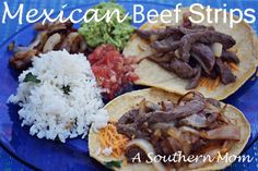 Easy and Quick Beef Strips Recipe - A Southern Mom Easy and quick Mexican Beef Strips. A quick and cheap meal. Easy and Quick Beef Strips Recipe - A Southern Mom Easy and quick Mexican Beef Strips. A quick and cheap meal. Beef Recipes For Dinner, Delicious Dinner Recipes, Mexican Food Recipes, Healthy Recipes, Ethnic Recipes, Cheap Recipes, Yummy Food, Delicious Dishes, Yummy Recipes