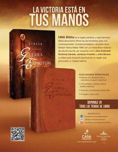 Biblia para la Guerra Espiritual - Disponible en dos presentaciones