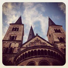 Bonner Munster Catholic Church in Bonn. #Germany