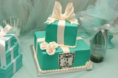 Tiffany Blue Party Tiffany Blue Party, Tiffany Cakes, 50th Birthday, Event Planning, Turquoise, Deco, 50th Anniversary, Green Turquoise, Decor