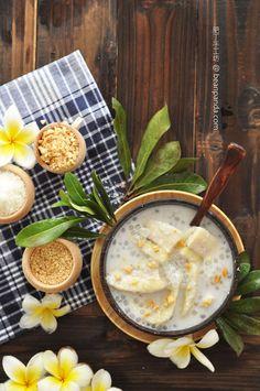 Banana in Coconut Milk ( Vietnamese Dessert ) #dessert