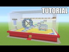 "In this episode of ""Awesome Minecraft Survival House"" I will be show you guys how to build my newest house :) It is themed after a Hamster or Mouse cage! Minecraft Banner Designs, Minecraft Banners, Minecraft Plans, Minecraft City, Amazing Minecraft, Minecraft House Designs, Minecraft Construction, Minecraft Survival, Minecraft Tutorial"