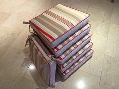 Stripe seat pads