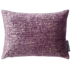 Patina Velvet Damson Rectangular Cushion