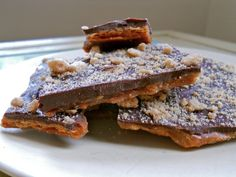 Homemade Skor bars