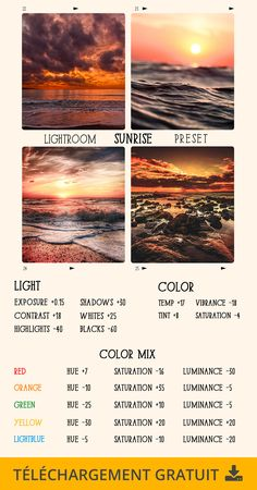 How To Start Photography, Photography Basics, Photography Editing, Photo Editing, Photography Backdrops, Sunrise Photography, Photography Filters, Lightroom Effects, Lightroom Presets