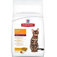 Hills Science Diet Adult Light Chicken Recipe Dry Cat Food 16 lb bag -- Check this awesome product by going to the link at the image.