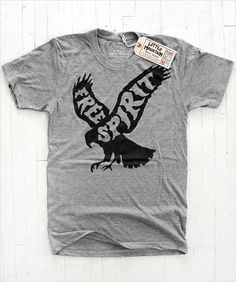 'Free Spirit' T-Shirt Design by Joe Horacek  -8-