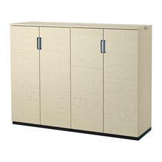 GALANT Säilytyskokonaisuus+ovet IKEA 10 vuoden takuu. Lisätietoja ja takuuehdot…
