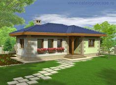 Casa parter Brandusa : Proiecte Case Vile