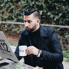 📰 & ☕️ with @eff.ulloa view full story at MensFashionPost.com✔️
