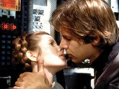 One of the most beautiful kisses in cinema history. Harrison Ford has not aged well, but he was gorgeous.