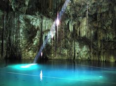 mysterious, cenote
