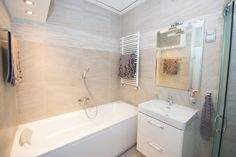 Furnished flat for rent with modern bathroom in Budapest, 13.