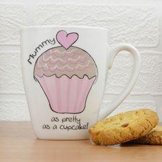 Personalised Cupcake Latte Mug